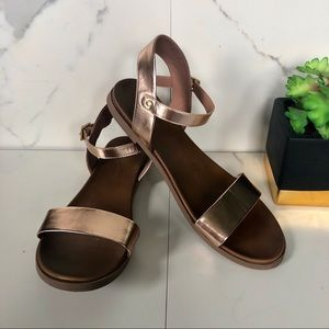 Rock & Candy Rose Gold Sandals